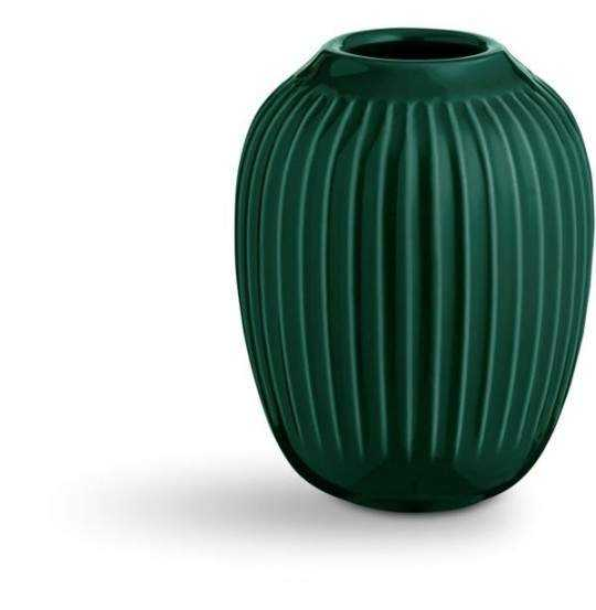 Hammershøi Vase H10 grøn