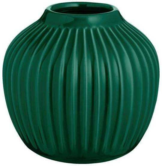 Hammershøi Vase H12,5 grøn