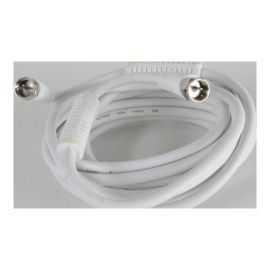Qnect Antenneledning m/F-stik&ferrit 10m