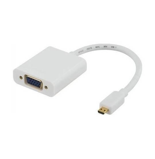 Qnect Adapter HDMI Micro han-VGA hun