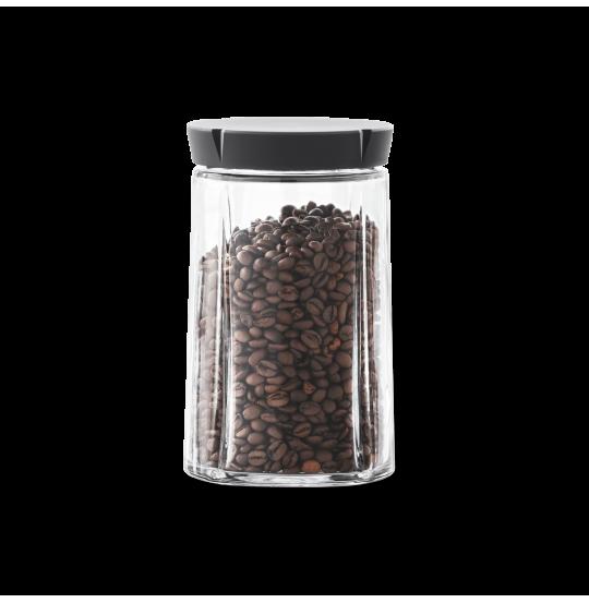 GC Opbevaringsglas 1,0 l sort