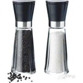 GC Salt- og pebersæt H20 sort/stål