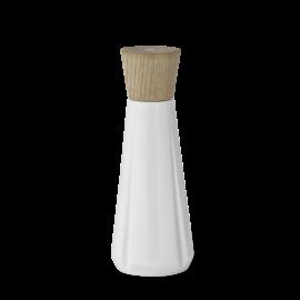 Saltkværn Hvid og egetræ 19 cm