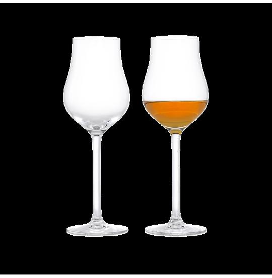 Premium Spiritusglas 23 cl klar 2 stk.