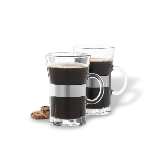 GC Hot drink glas 24 cl klar 2 stk.