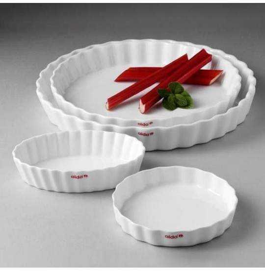 Aroma Tærteform Ø25 cm hvid