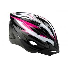 Cykelhjelm junior 55-58 Sort/Pink