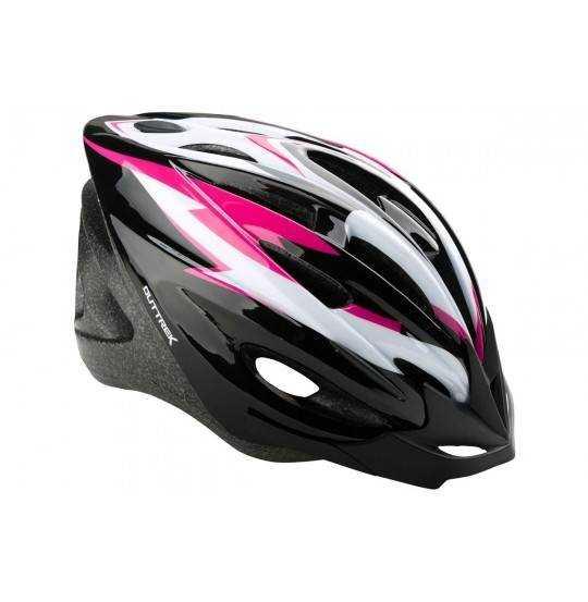 Cykelhjelm junior 55-58 Sort/Pink