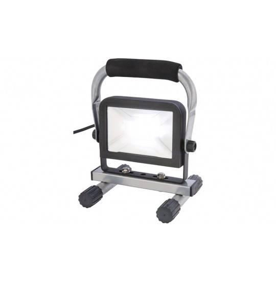 Arbejdslampe LED 10W 230V med fod