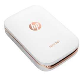 HP Sprocket mobil fotoprinter (hvid)