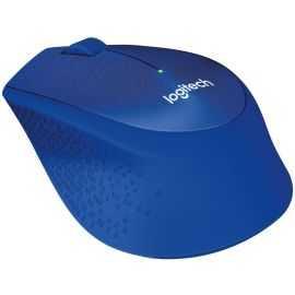 Logitech M330 Silent Plus trådløs mus blå
