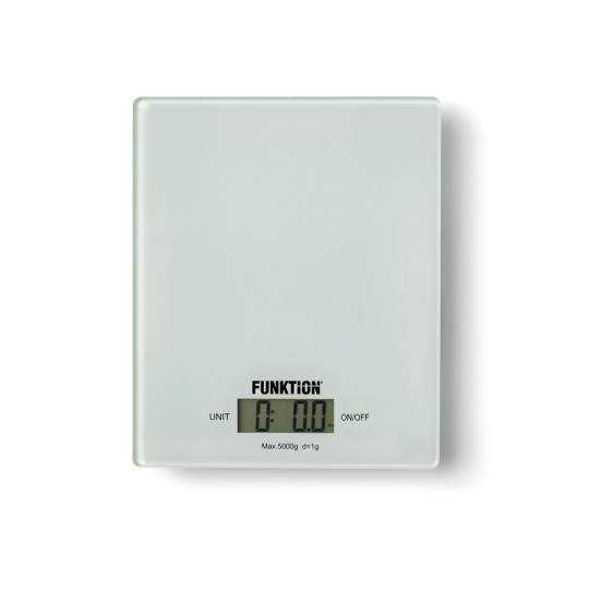 Køkkenvægt hvid 5kg/1g.