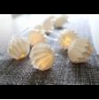 Lyskæder Light Chain Origam - hvid