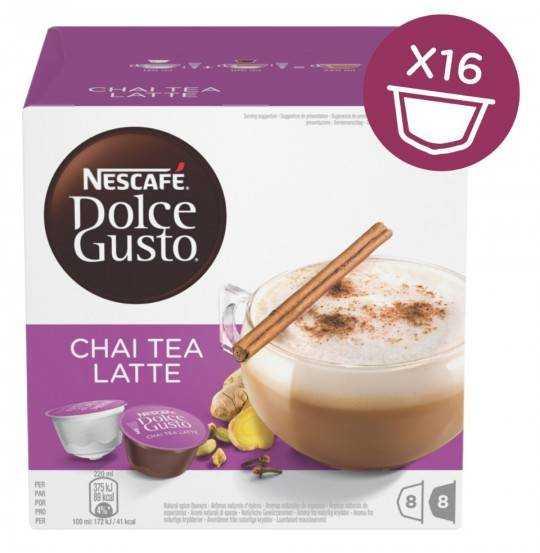 Kapsler Tea Chai Katte Necafe DolceGusto