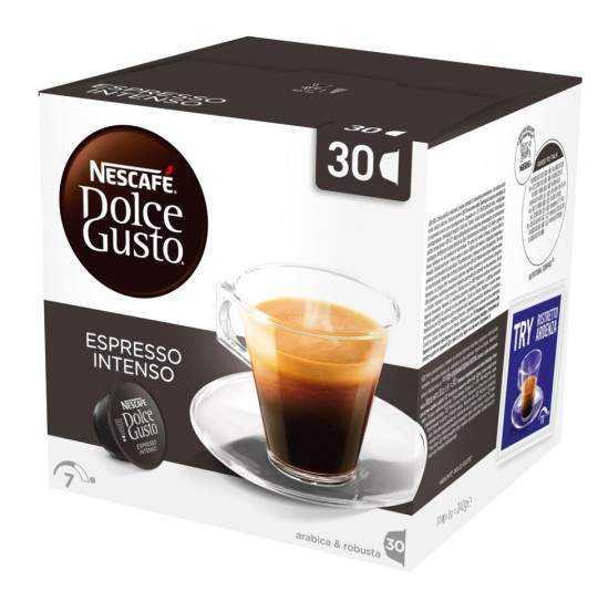 Nescafè Espresso Intenso kapsler