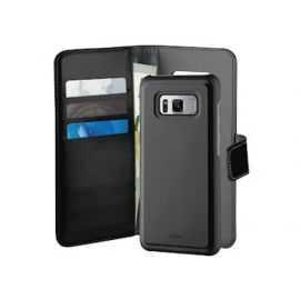 Puro Samsung Galaxy S8, Duetto Wallet, sort/grå