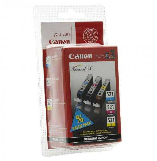 Canon Inkjet CLI-521 ValuePack