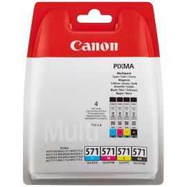 Canon 571 blækpatroner - 4-farvet multipack