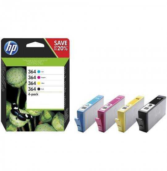 HP 364 4 pakker