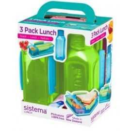 Lunch Trio 2 madkasser/1 vandflaske