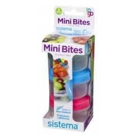 Opbevaringsboks Mini Bites 3pk 130ml