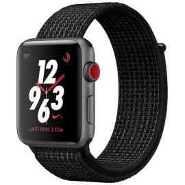 Apple Watch Series 3 Nike+ 38 mm sort