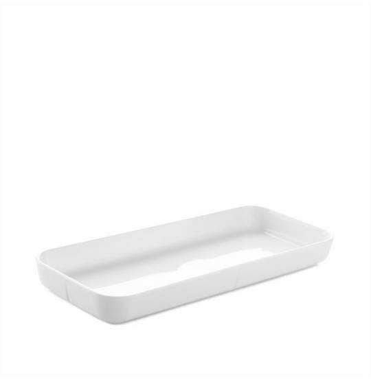 GC Serveringsfad 35x15 hvid