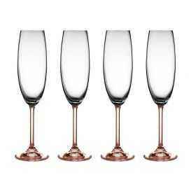 BITZ Champagneglas 4 stk. 22 cl rose