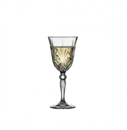 Lyngby Melodia Hvidvinsglas krystal 21 cl