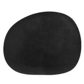 RAW - Recycled læderdækkeserviet 41 x 33,5 cm