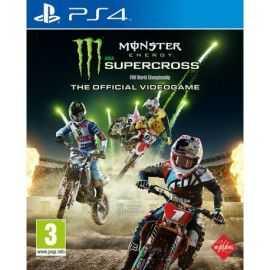 PS4: Monster Energy Supercross-The Official Videog