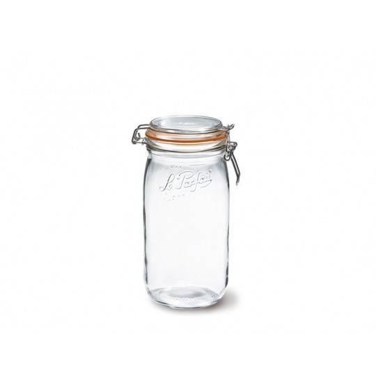 Henk. glas 1,5 L Le Parfait