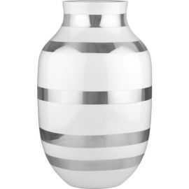 Omaggio Vase H30,5 sølv