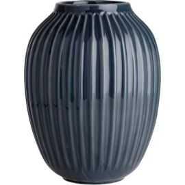 Hammershøi Vase H25 antracitgrå