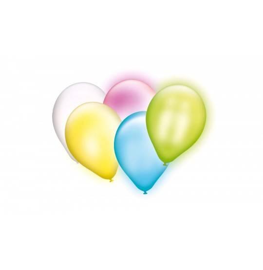 Balloner med LED lys,