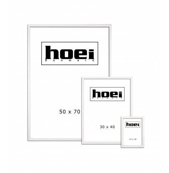 Ramme hoie115 hvid 42x59,4 cm