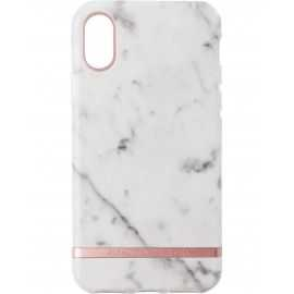 Cover Richmond&Finch iPhone X etui hvid marmor