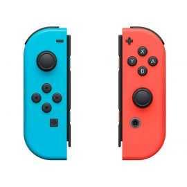 NS Joy-Con controller par neon rød + blå