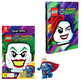 Lego DC Super-Villains: Deluxe Edition - Switch