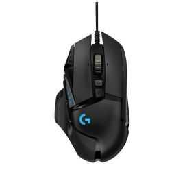 Logitech G502 Hero gaming-mus (sort)
