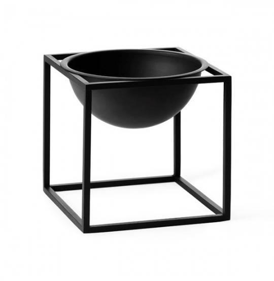 KUBUS Bowl lille 14x14 cm sort