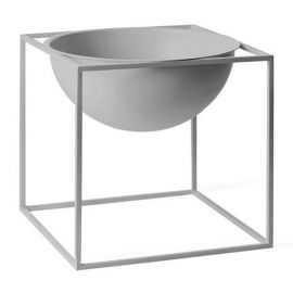 Bowl large, cool grey