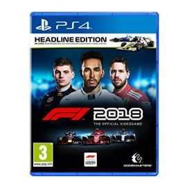 PS4: F1 2018 HEadline Edition