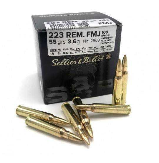 S&B KAL.223 REM FMJ