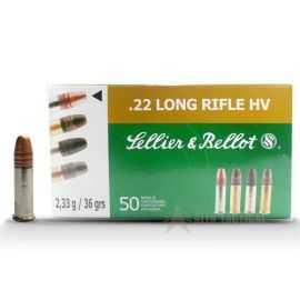 Sellier & Bellot 22 Long Rifle HV 2,33g 36grs