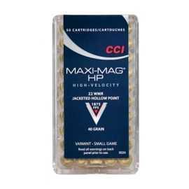 CCI .22 WMR Maxi-Mag HS