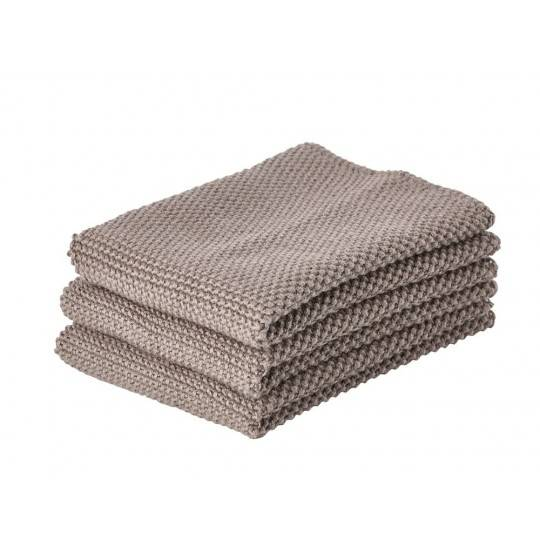 Zone Karklud 3 stk. taupe brown