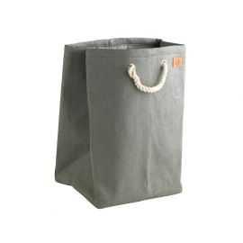 Zone Vasketøjskurv Nylon grå H50 cm