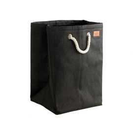 Zone Vasketøjskurv Nylon sort H50cm