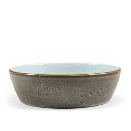 BITZ Suppeskål Ø18cm grå/lysblå